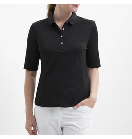 Nivo Nivo Nina Elbow Sleeve Polo Black
