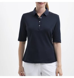 Nivo Nivo Nina Elbow Sleeve Polo Navy
