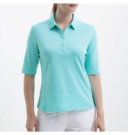 Nivo Nivo Nina Elbow Sleeve Polo Angel Blue