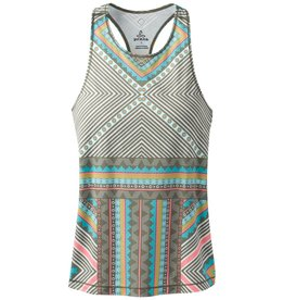prAna prAna Boost Printed Top Green Taos
