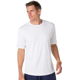 IBKul IBKul Solid Short Sleeve Crew White