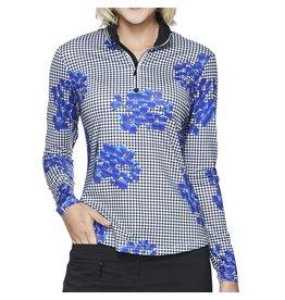 GG Blue GG Blue Ivan Long Sleeve Mock Vibrant