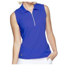 GG Blue GG Blue Katy Sleeveless Polo Clematis