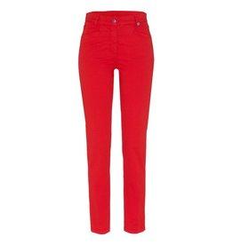 Golfino Golfino Dot Print Stretch 7/8 Trouser Red Flame