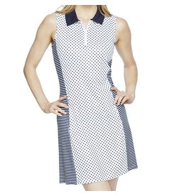 GG Blue GG Blue Nova Dress Navy Dot