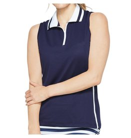 GG Blue GG Blue Fae Sleeveless Polo Navy