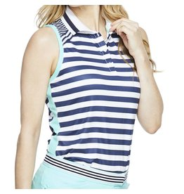 GG Blue GG Blue Cora Sleeveless Polo Unity
