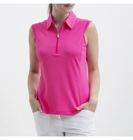 Nivo Nivo Nelly Sleeveless Polo Energy Pink