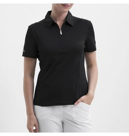 Nivo Nivo Natasha Short Sleeve Polo Black