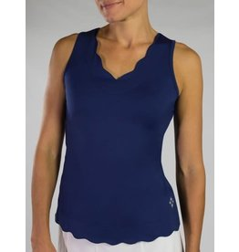 Jofit Jofit Scallop Tank Blue Depth