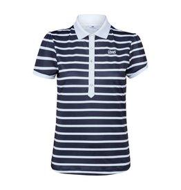 Daily Sports Daily Sports Kellie Cap Sleeve Polo Navy