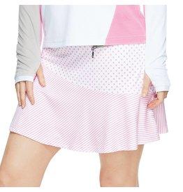 GGblue GG Blue Flounce Skort Pink Print