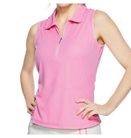 GGblue GG Blue Katy Sleeveless Polo Rose