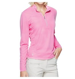 GGblue GG Blue Ellen Long Sleeve Mock Rose