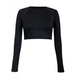 Tail Tennis Tail Sasha Crop Top Black