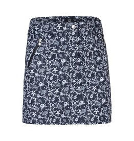 Daily Sports Daily Sports Coral Wind Skort-Long Black