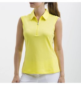 Nivo Nivo Nelly Sleeveless Polo Lemon