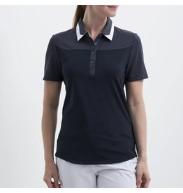 Nivo Nivo Hayley Short Sleeve Polo Navy
