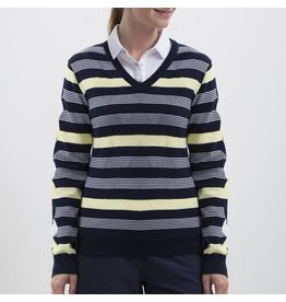 Nivo Nivo Hayden V-Neck Sweater Navy