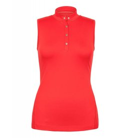 Tail Tail Baldwin Sleeveless Top Red Rose
