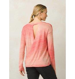 prAna Nightingale Sweater Sunset Pink