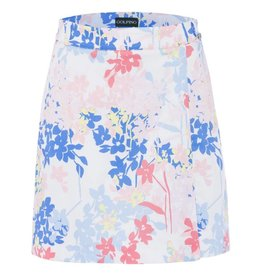 Golfino Golfino Spring Flower Skort Optic White