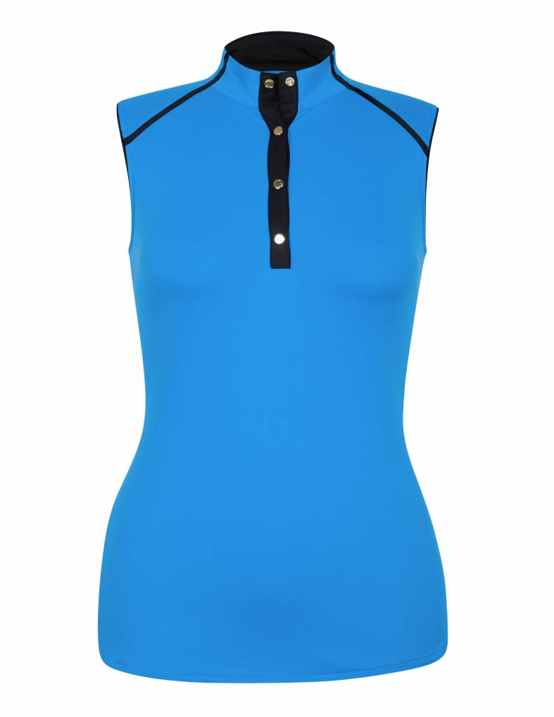 Tail Tail Irondale Sleeveless Mock Top Pacific