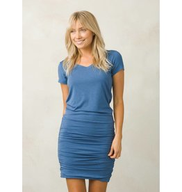 prAna prAna Foundation Dress Sunbleached Blue Heather