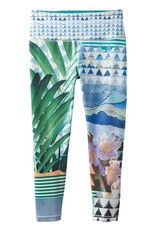 prAna prAna Pillar Printed Capri Bluegrass Paradise
