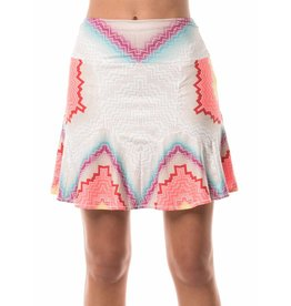 Lucky In Love Lucky In Love Circuit Trumpet Skort Lava