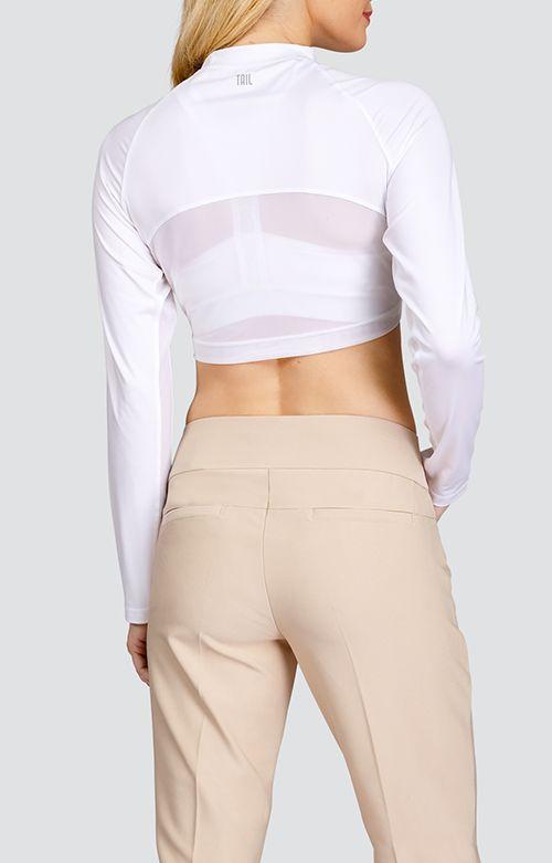 Tail Tennis Tail Edie Crop Top White