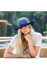 Wallaroo Wallaroo Victoria Two-Toned Hat Hydrangea/Navy