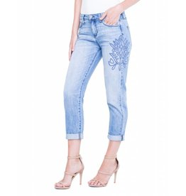 "Liverpool Jeans Liverpool Cameron Cropped Boyfriend 24"" Skyline"