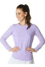 IBKul IBKul Solid Long Sleeve Lavender
