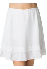 IBKul IBKul Crystal Pleat Skort White