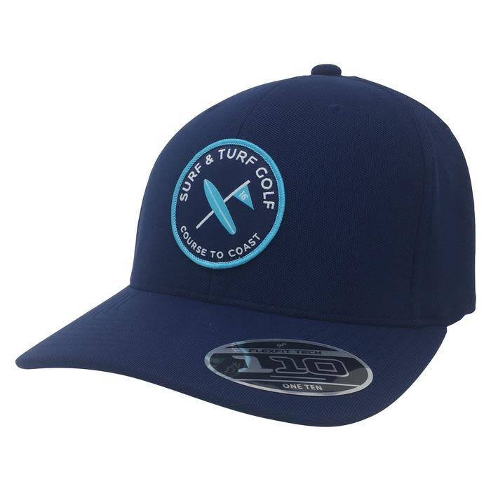 Surf & Turf Golf Surf & Turf Course to Coast 6 Hat Navy