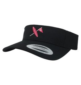 Surf & Turf Golf Surf & Turf Golf Kona 3 Visor Black