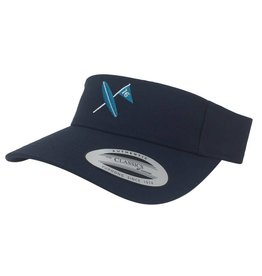 Surf & Turf Golf Surf & Turf Golf Kona 2 Visor Navy