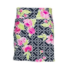 IBKul IBKul Ashly Straight Skort Black/Pink