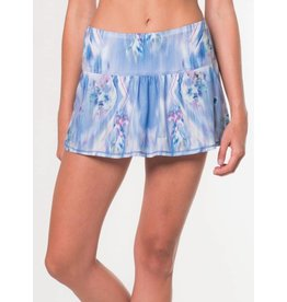 Lucky In Love Lucky In Love Floral Fantasy Skirt Blue Marine