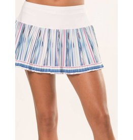 Lucky In Love Lucky In Love Blurred Orchid Skirt White