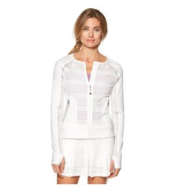 SHAPE Activewear SHAPE ActivewearTennis Jacket White