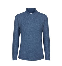 Daily Sports Daily Sports Agnes LS Mock Steel Blue
