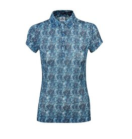 Daily Sports Daily Sports Alicia Mesh Polo Steel Blue