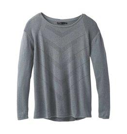 prAna Mainspring Sweater Weathered Blue Heather