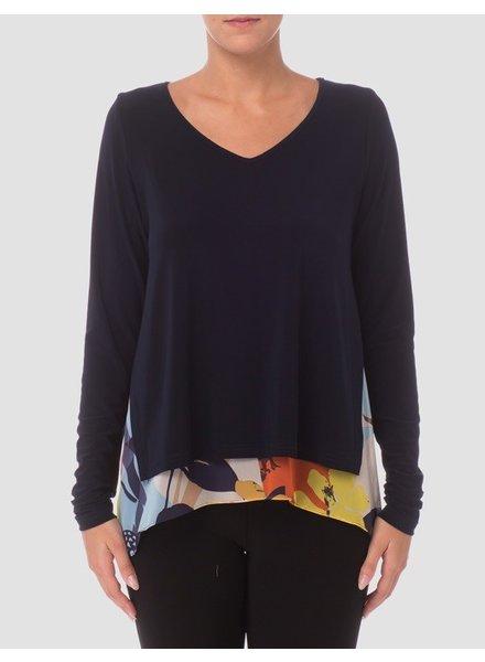 Joseph Ribkoff Two layeres blouse