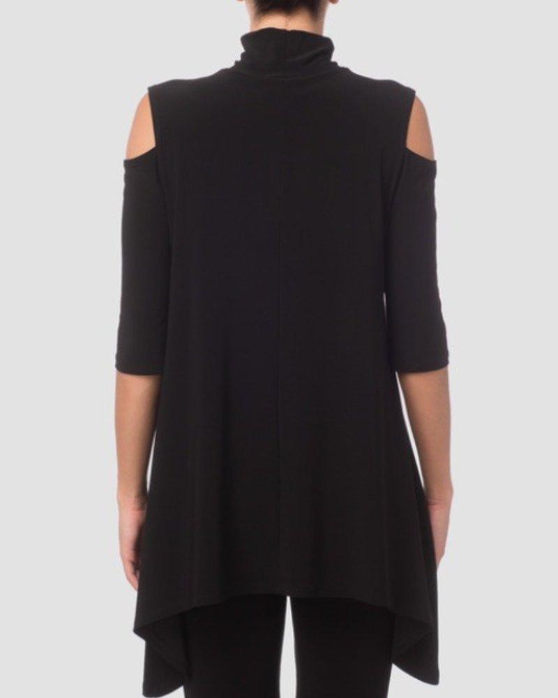 Joseph Ribkoff High turtleneck and cutouts blouse