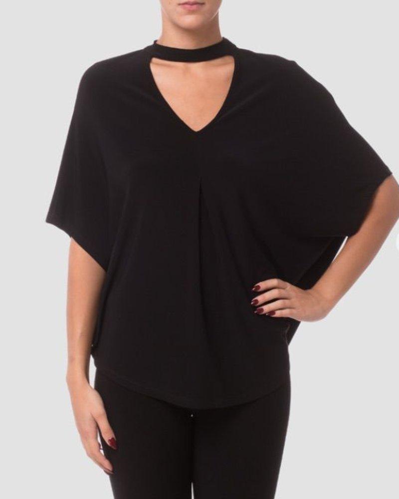 Joseph Ribkoff Poncho style blouse
