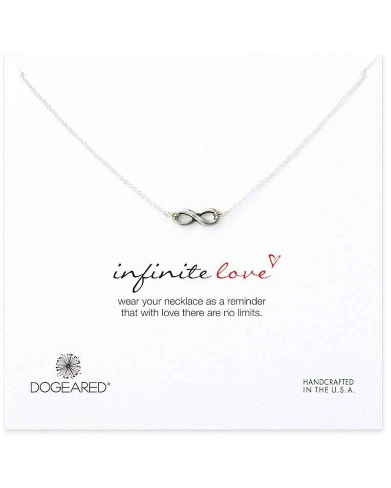 Dogeared Infinity Love Necklace