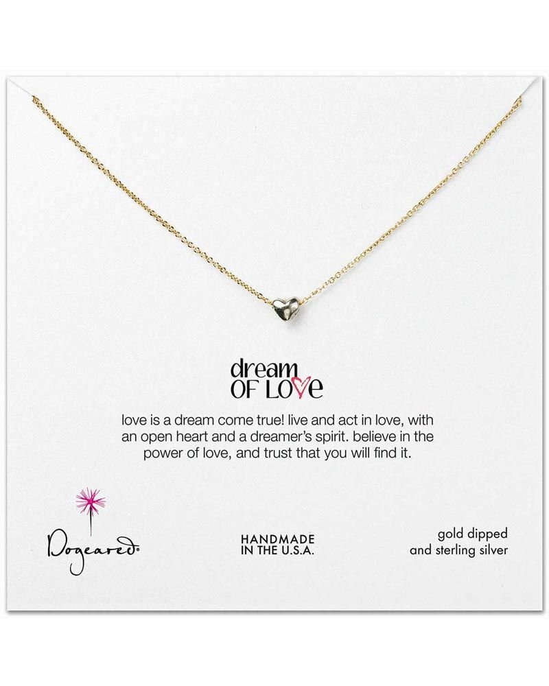 Dogeared Dream of Love Necklace